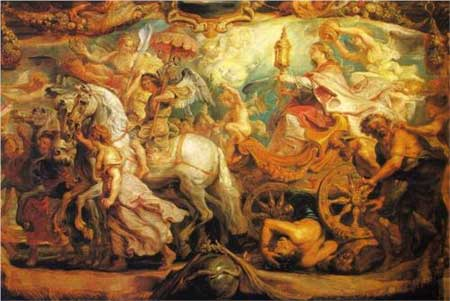 The Triumph of the Church - Peter Paul Rubens