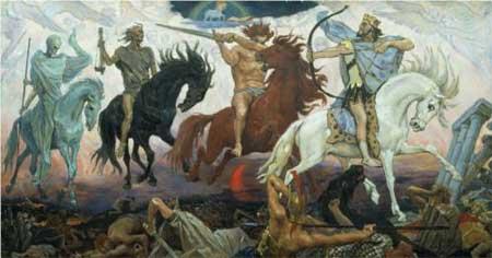 Four Horsemen of Apocalypse - Viktor Vasnetsov