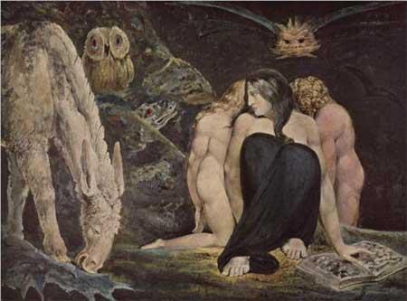 Hecate The Night of Enitharmon`s Joy - William Blake