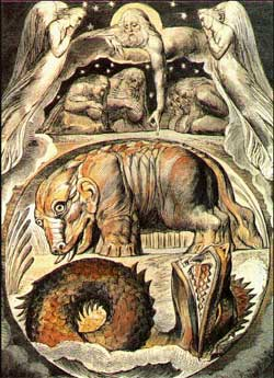 Behemoth and Leviathan - William Blake