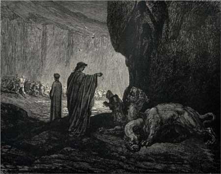Cerberus - The Inferno - Gustave Dore