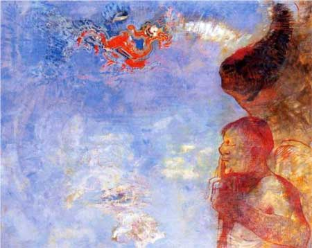 The Fallen Angel - Odilon Redon