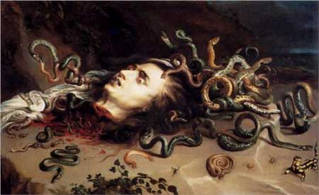 Head Of Medusa - Peter Paul Rubens