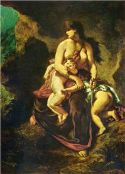 Medea - Eugene Delacroix
