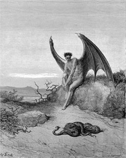 Him, Paradise Lost - Gustave Dore