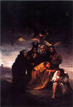 Incantation - Francisco Goya