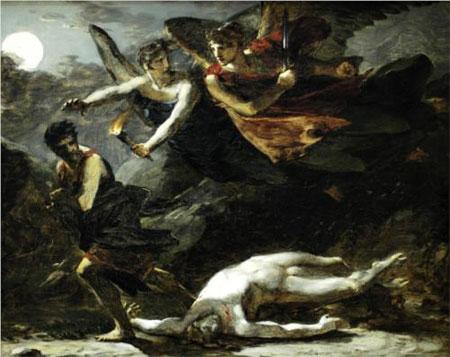 Justice and Divine Vengeance pursuing Crime - Pierre-Paul Prud'hon
