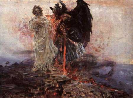 Follow me, Satan - Ilya Repin