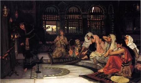 Consulting the Oracle - John William Waterhouse