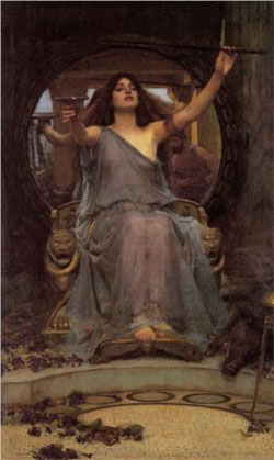 Circe Offering the Cup to Ulysses - John William Waterhouse