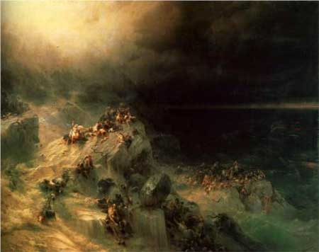 Deluge - Ivan Aivazovsky