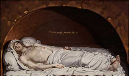Jesus at the tomb - Vladimir Borovikovsky