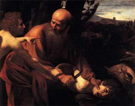 The Sacrifice of Isaac - Michelangelo Merisi da Caravaggio