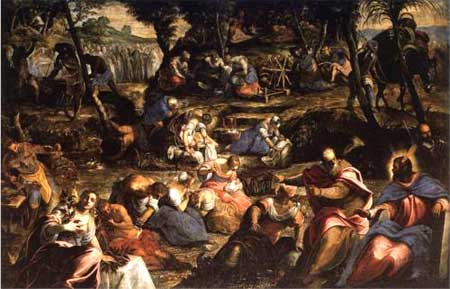 The Jews in the Desert - Tintoretto