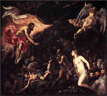 The Descent into Hell - Tintoretto