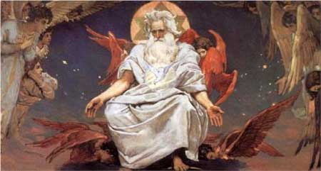 God of hosts - Viktor Vasnetsov