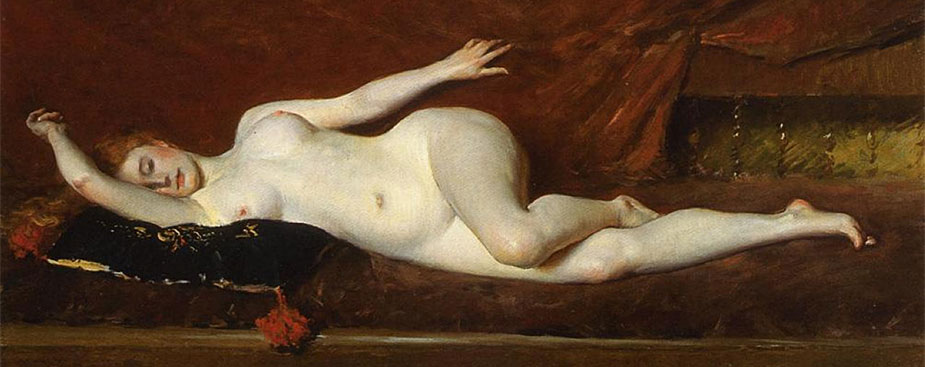 A Study in Curves - William Merritt Chase