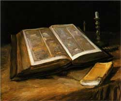 Still Life with Bible - Vincent van Gogh