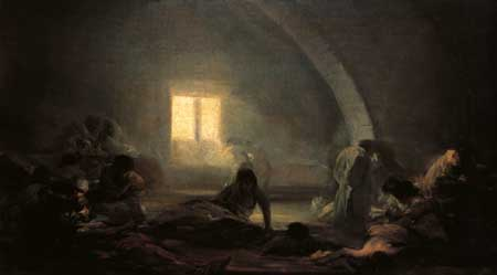 Plague Hospital - Francisco Goya