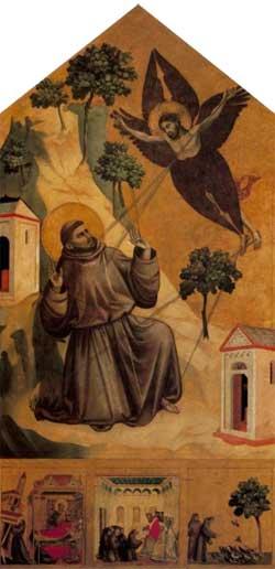 St. Francis Receiving the Stigmata - Giotto