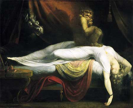 The Nightmare - John Henry Fuseli