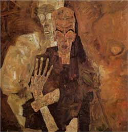 The Self Seers (Death and Man) - Egon Schiele