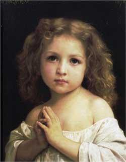 Prayer - William-Adolphe Bouguereau