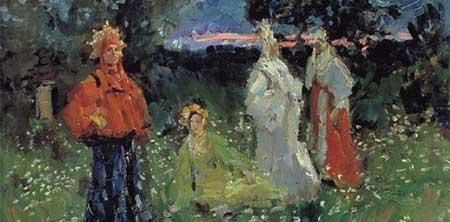 Spring Rituals - Konstantin Korovin