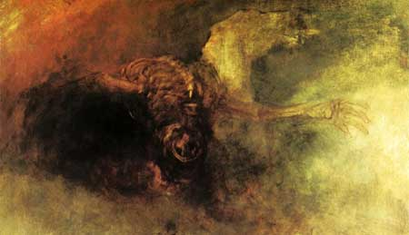 Death on a Pale Horse - William Turner