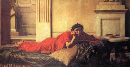 The Remorse of Nero After the Murder of His Mother - John William Waterhouse