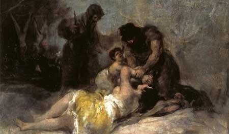 Scene of Rape and Murder - Francisco Goya