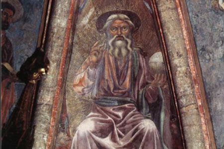 God the Father - Andrea del Castagno, 1442