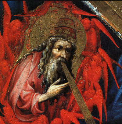 God the Father (from Altar of Philip the Bold) - Melchior Broederlam, 1399