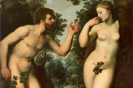 Adam and Eve - Peter Paul Rubens, c.1597