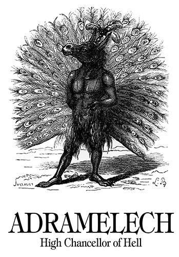 Adramelech - Dictionnaire Infernal